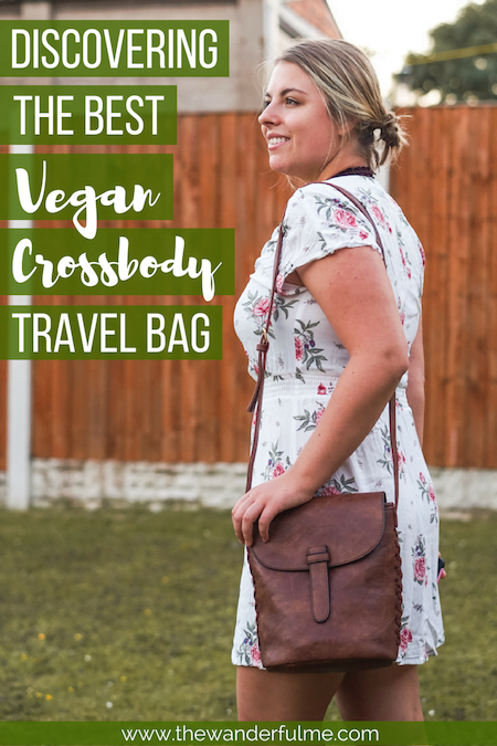 Searching for the ultimate vegan crossbody bag? One with lots of space to hold all your belongings, pockets to keep things organized, and a beautiful, yet simple and minimalistic design? Well, your search ends here! I've discovered the incredible Gowma Sling Bag from LifeStyle International. | #vegantravel #veganfashion #vegan #veganbag #gowma #sustainabletravel #ecofriendly #greentravel