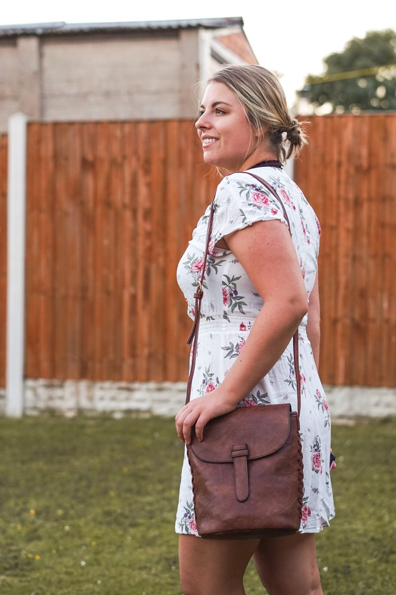 Loving this new bag. •Discovering the vegan Gowma Sling Bag from LifeStyle International