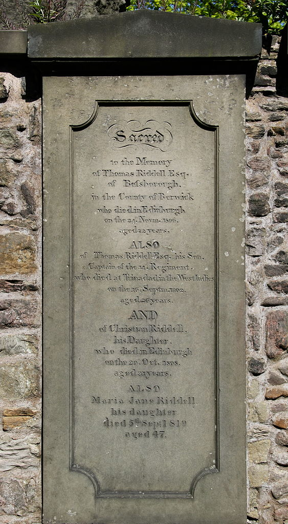 Thomas Marvolo Riddle's Grave • Must-See Harry Potter Sites in Edinburgh, Scotland