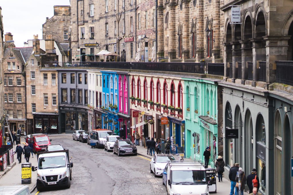 Diagon Alley inspiration! • Must-See Harry Potter Sites in Edinburgh, Scotland