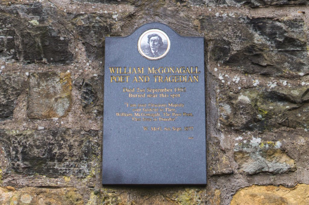 McGonagall's Grave • Must-See Harry Potter Sites in Edinburgh, Scotland