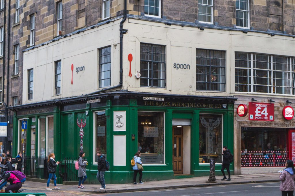 Spoon Cafe • Must-See Harry Potter Sites in Edinburgh, Scotland