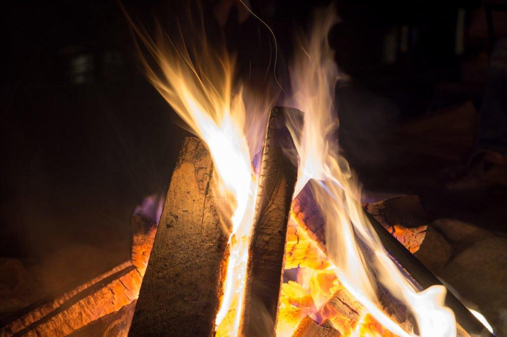 Bonefire summer nights in Minnesota.