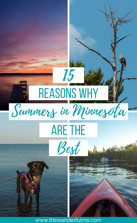 Sweet summer foraging, bonfire nights, lake days, pontoon chilling, and craft beer... summers in Minnesota are THE BEST! Check out some more reasons here. | #minnesota #summer #mntravel #mn #exploreminnesota #exploremn #visitminnesota #travelminnesota #travel