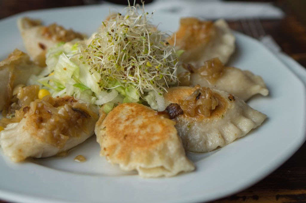 Vegan pierogis. • Vegan in Warsaw: 10 Vegan Restaurants You Can't Miss!