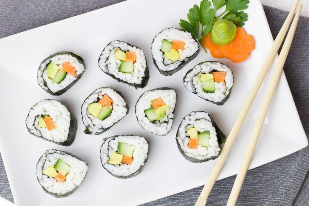 Vegan sushi in Warsaw. • Vegan in Warsaw: 10 Vegan Restaurants You Can't Miss