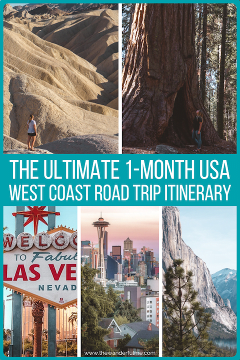 Looking to explore the beautiful America? Here's the ultimate 1-month USA west coast road trip itinerary to fuel your adventurous soul! | #USA #america #westcoast #california #coast #roadtrip #travel #adventure #inspiration #itinerary #unitedstates #travelplanning