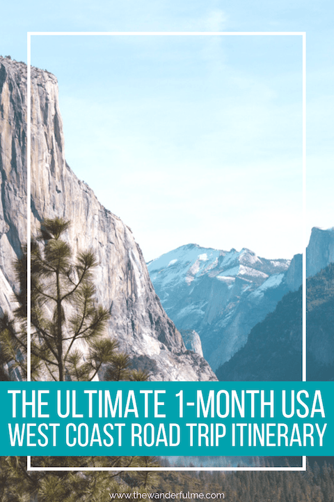 Want to have a great American adventure? Here's the ultimate 1-month USA west coast road trip itinerary to fuel your adventurous soul! | #USA #america #westcoast #california #coast #roadtrip #travel #adventure #inspiration #itinerary #unitedstates #travelplanning