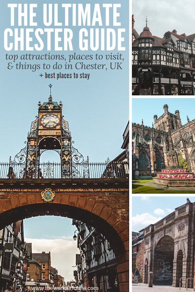 Planning a trip to the beautiful city of Chester, England? Here's the ultimate Chester city guide! Here are the top Chester attractions, places to visit, and things to do in Chester! Plus, the best places to stay in Chester. | #chester #uk #england #travel #guide #tips #thingstodo