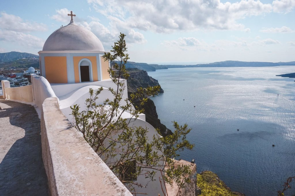Gorgeous island views on Santorini. • Day Trip to Santorini from Athens Guide.