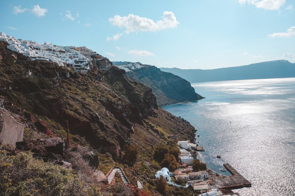 Hike the volcano caldera. • Day Trip to Santorini from Athens Guide.