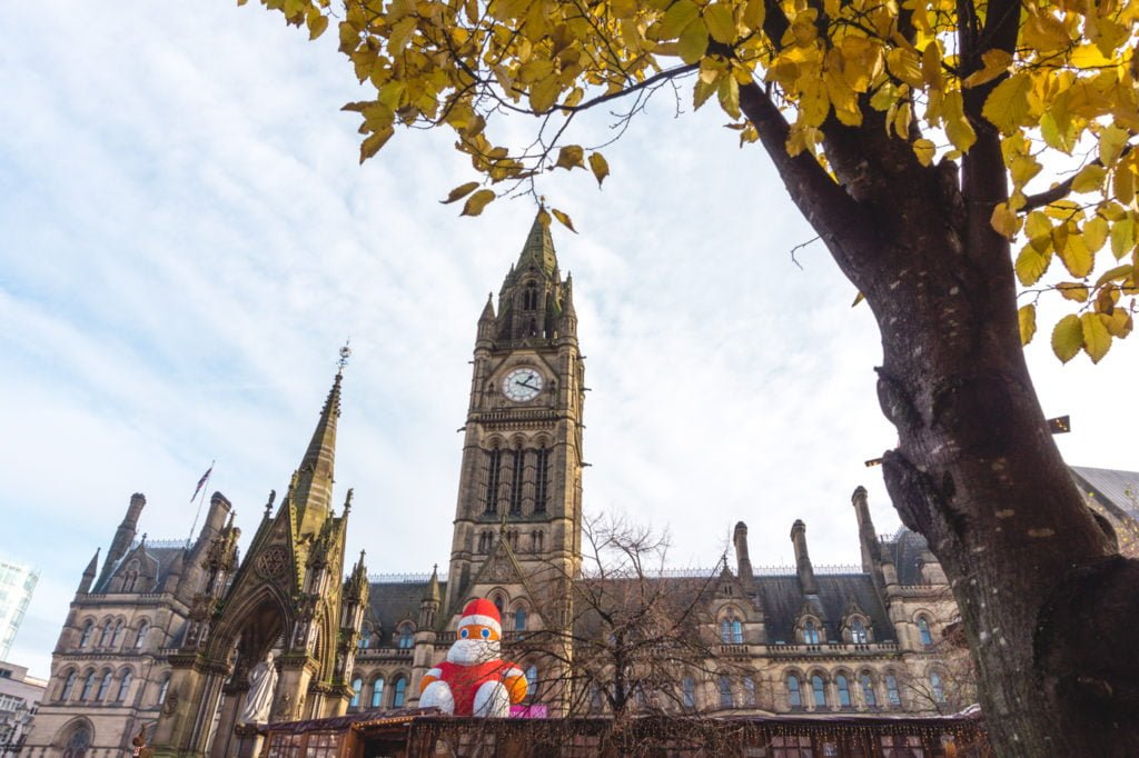 Manchester Town Hall • Manchester Christmas Market: 25 Photos to Inspire You to Visit