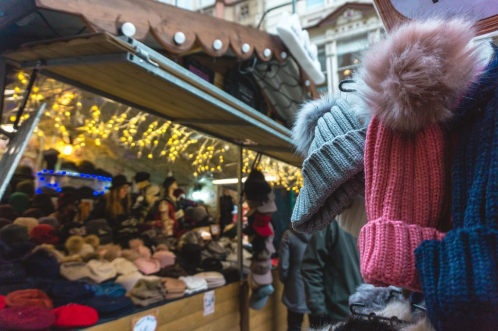 Hat stand. • Manchester Christmas Market: 25 Photos to Inspire You to Visit