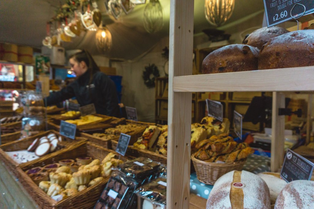 Fresh bread. • Manchester Christmas Market: 25 Photos to Inspire You to Visit