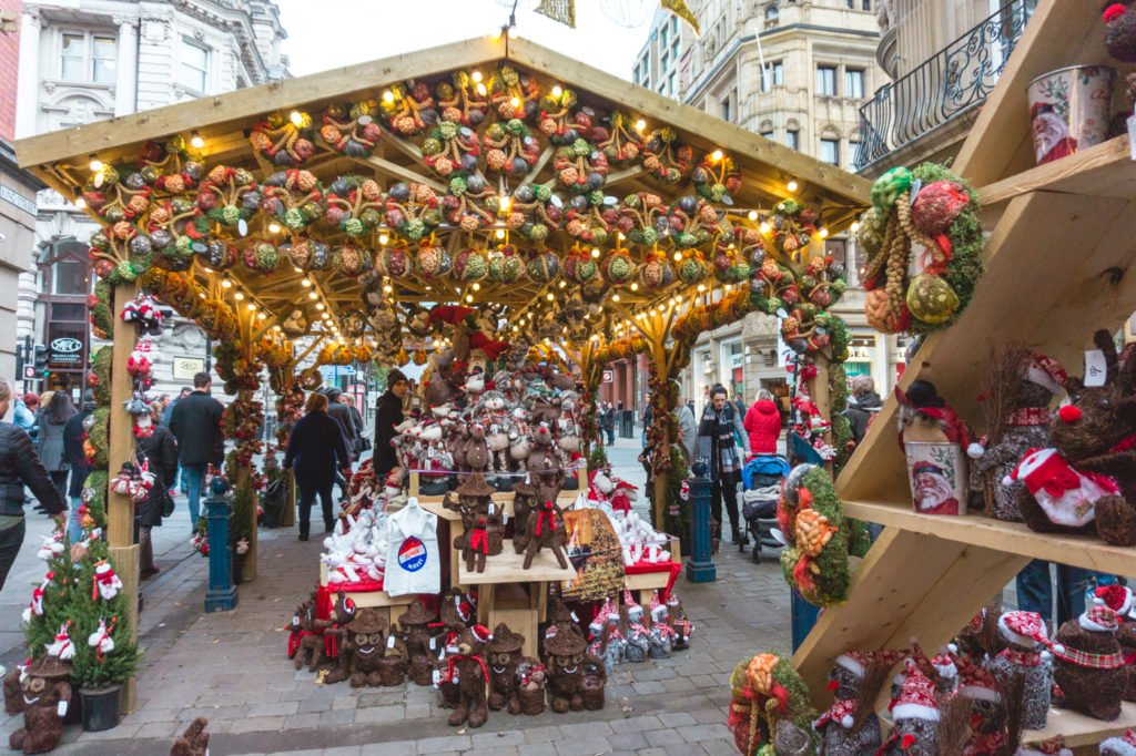 An overabundance of Christmas decorations. • Manchester Christmas Market: 25 Photos to Inspire You to Visit