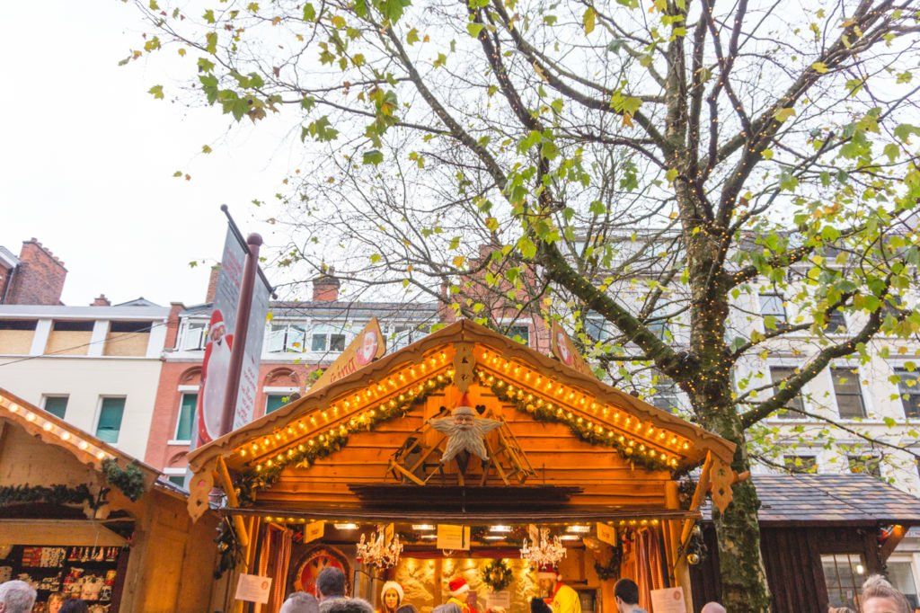 Coffee stand. • Manchester Christmas Market: 25 Photos to Inspire You to Visit