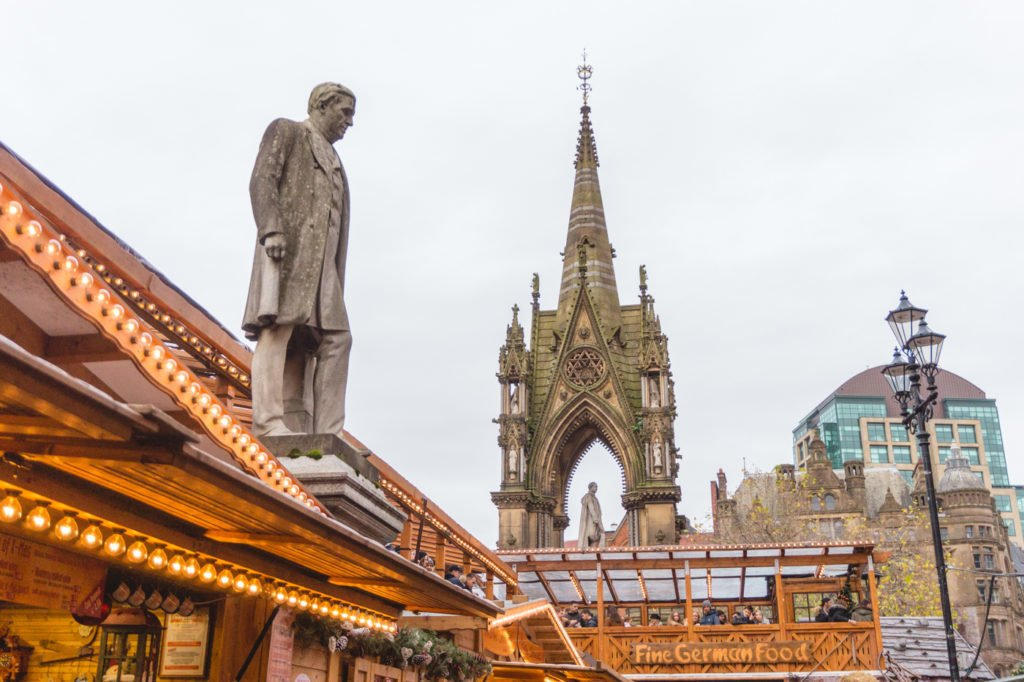 Views. • Manchester Christmas Market: 25 Photos to Inspire You to Visit