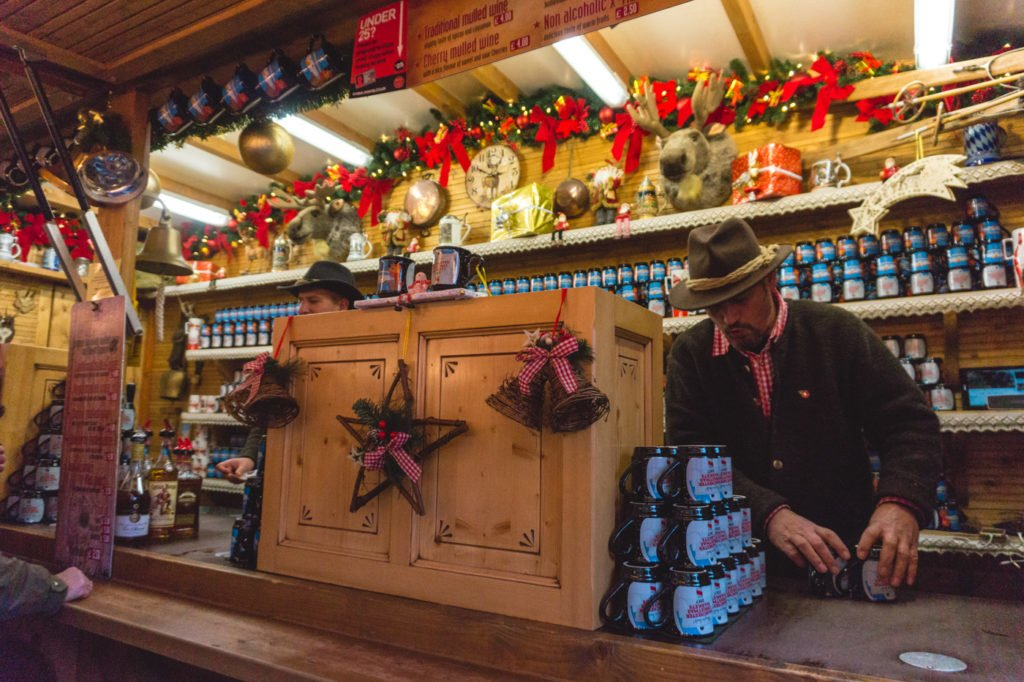 Blueberry mulled wine. • Manchester Christmas Market: 25 Photos to Inspire You to Visit