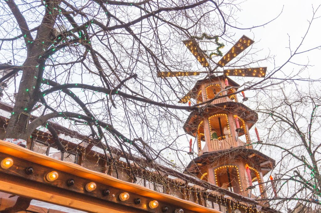 Christmas Market decorations. • Manchester Christmas Market: 25 Photos to Inspire You to Visit
