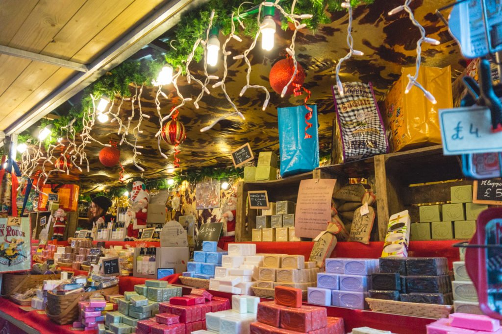 Handmade Soaps • Manchester Christmas Market: 25 Photos to Inspire You to Visit
