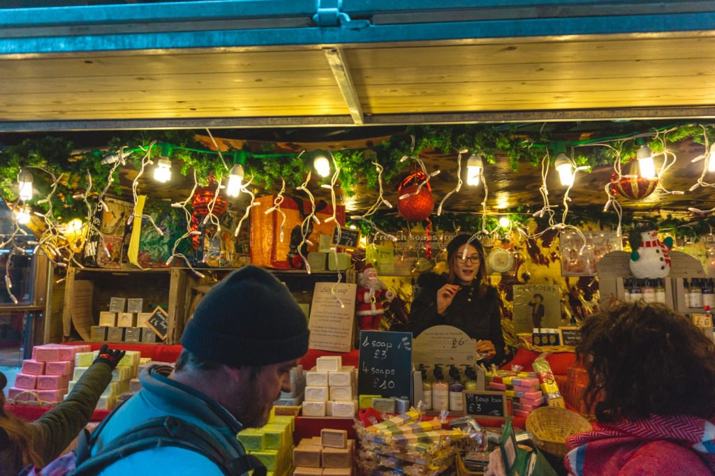 Manchester Christmas Market stand. •Manchester Christmas Market: 25 Photos to Inspire You to Visit