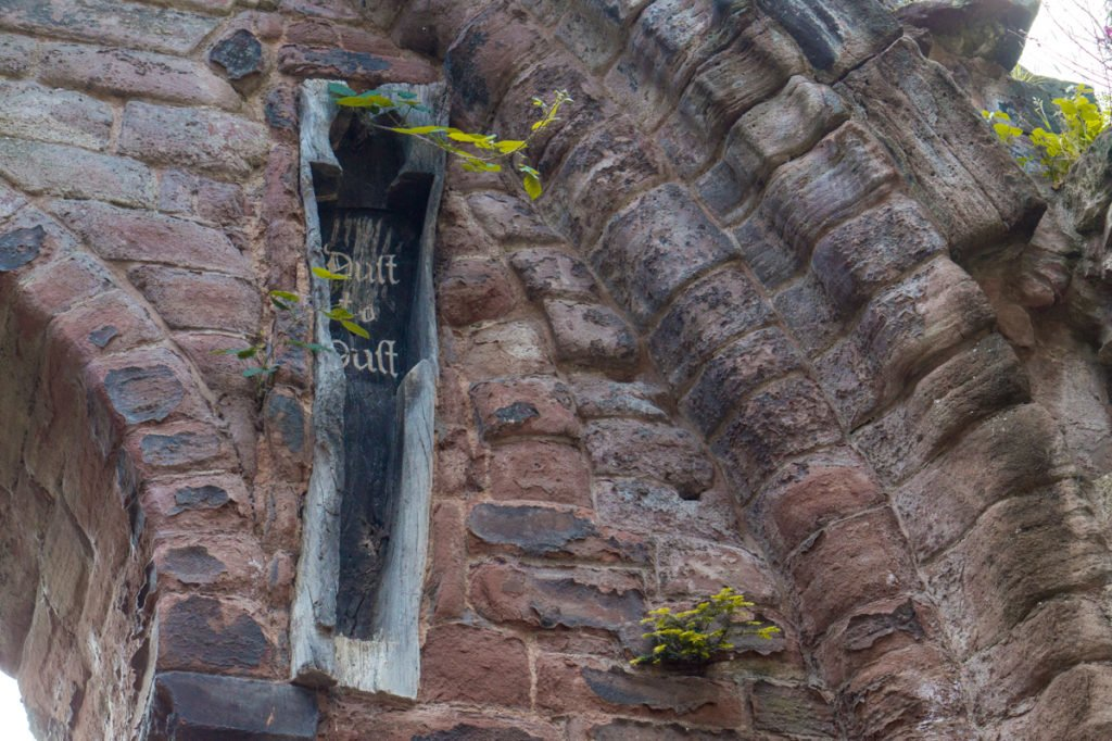 Medieval Coffin in the Wall, Chester •Top Attractions, Places to Visit, and Things to Do in Chester, England + Best Places to Stay