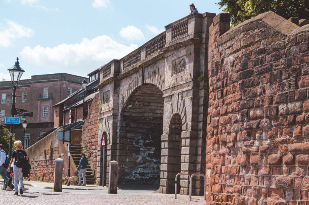 Chester Roman Walls •Top Attractions, Places to Visit, and Things to Do in Chester, England + Best Places to Stay