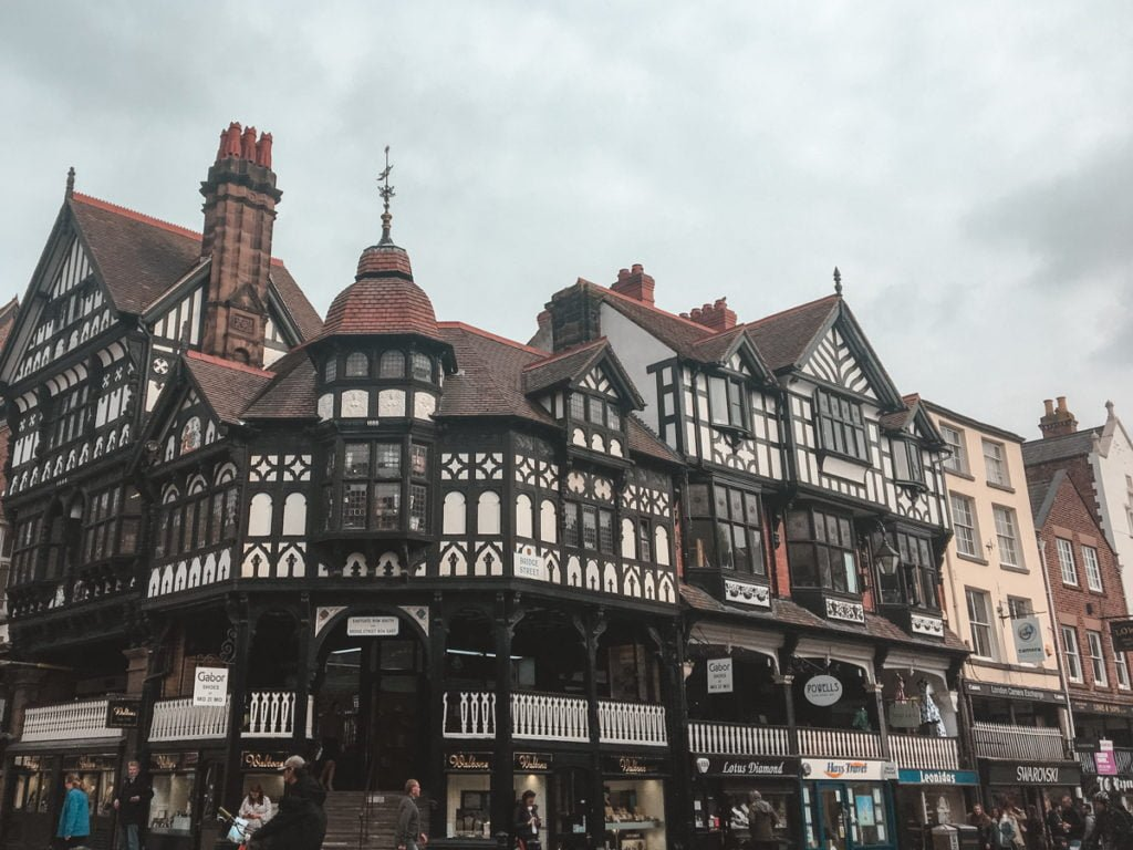 Chester Rows •Top Attractions, Places to Visit, and Things to Do in Chester, England + Best Places to Stay