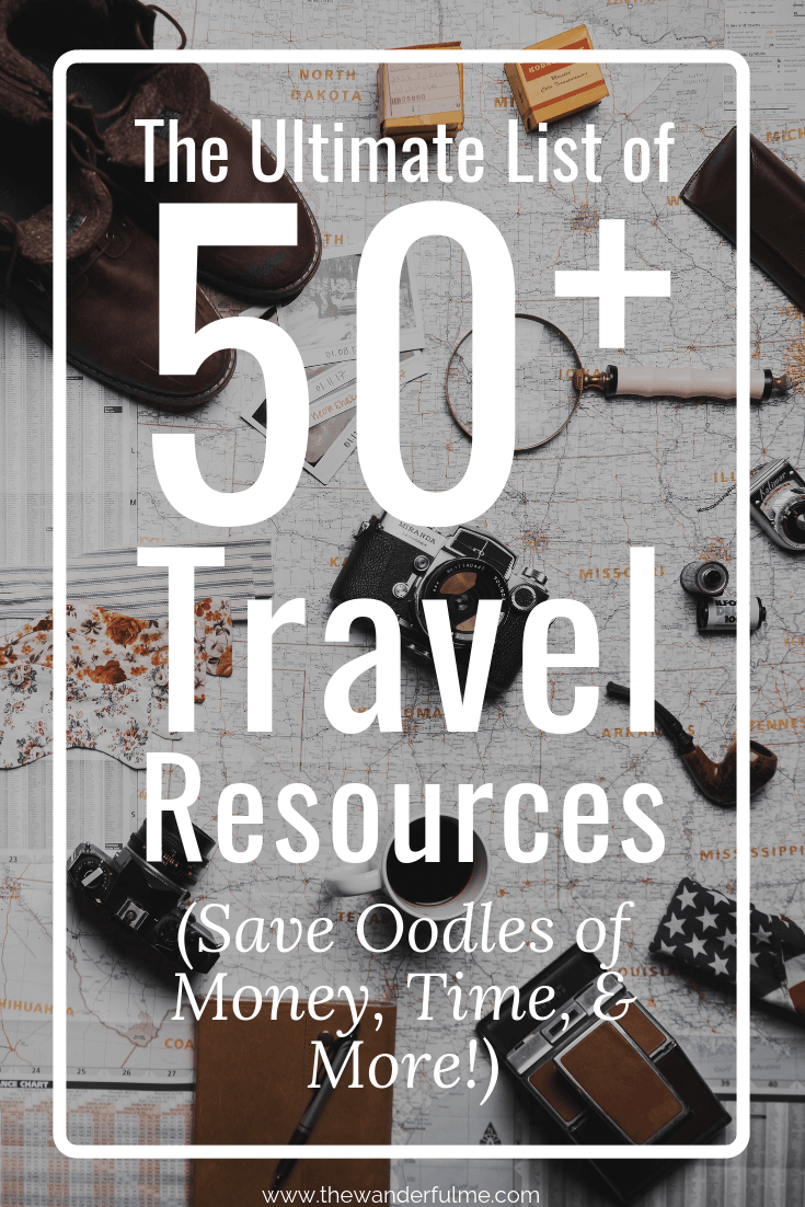 Ready to travel the world like a pro? Here's the ultimate list of 50+ travel resources and recommendations to help save you oodles of money, time, and hassle! | #travel #traveltips #resources