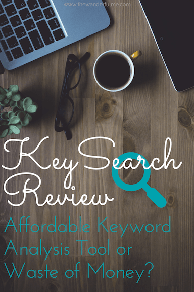 Is KeySearch an affordable keyword analysis tool or just a waste of money? In this detailed review, you'll find out if it's actually worth investing in to up your SEO game. #keysearch #keyword #blogging #bloggintips