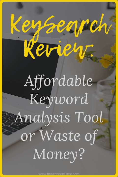 Thinking of investing into KeySearch to up your SEO game? Make sure to check out this KeySearch review before to uncover if it's an affordable keyword analysis tool or a gimmick! #keysearch #keyword #bloggingtips