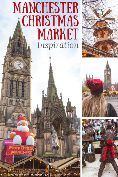 Thinking of visiting a Christmas market this year? Check out the Manchester Christmas Market! Here are 25 photos to inspire you to visit. #manchester #christmas #europe #england