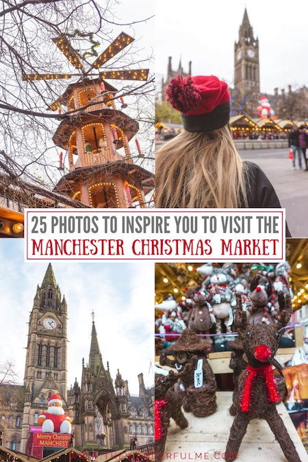 Christmas markets are magical... and the Manchester Christmas Market is no exception! Here are 25 photos to inspire you to visit the Manchester Christmas Market. #manchester #christmas #europe #england