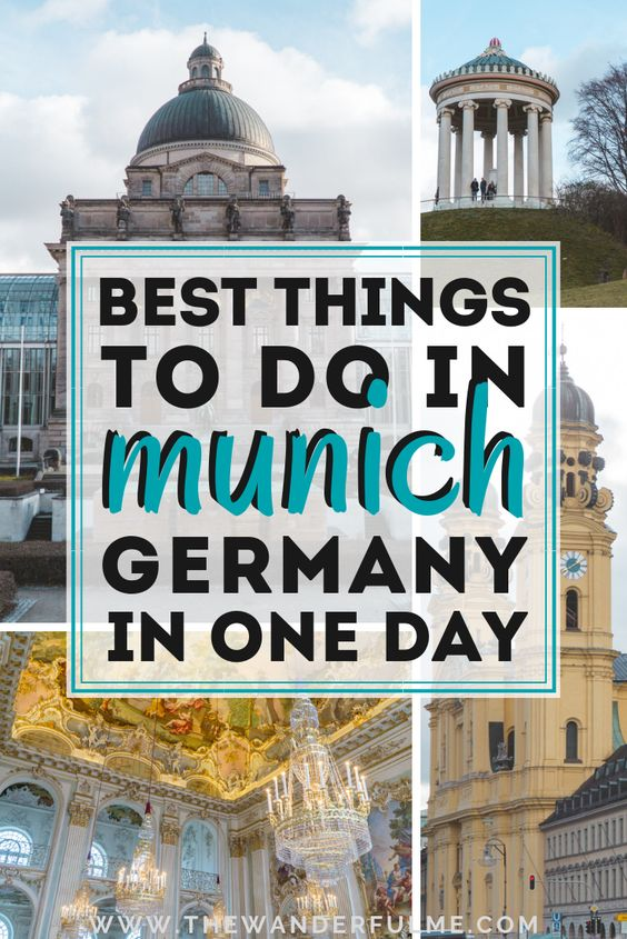 Crunched with time and only have a mere 24 hours in Munich, Germany? Don't worry - you can see SO much with only one day in Munich! Here's my guide on the best things to do in Munich in one day. | #munich #germany #oneday #itinerary
