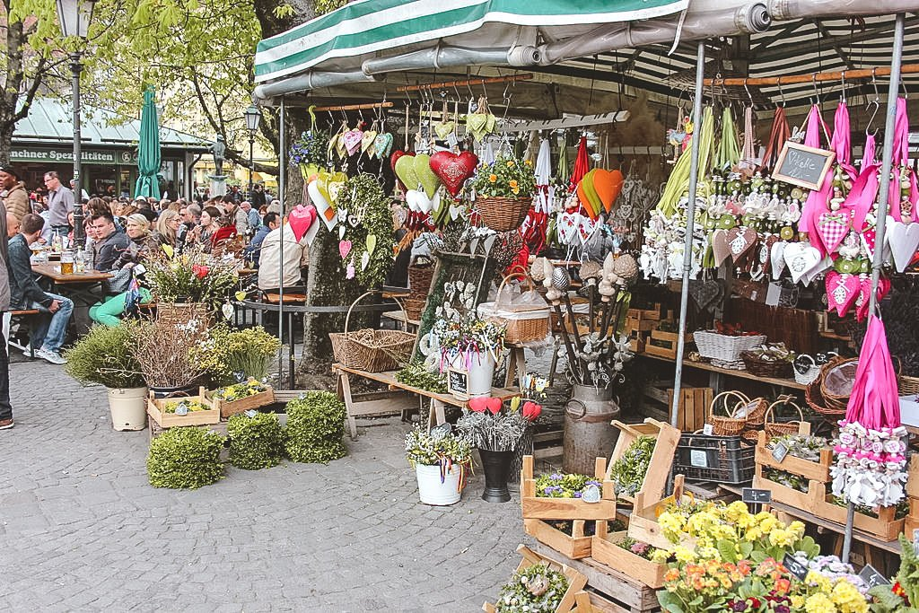Viktualienmarkt • Best Attractions and Things to Do in Munich in One Day