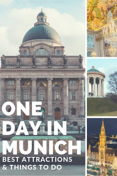 Only have one day in Munich, Germany? With only 24 hours in Munich, you can actually see quite a bit of this awesome city! Here's my travel guide on the best attractions and top things to do in Munich in one day. | #germany #munich #itinerary #europe #oneday