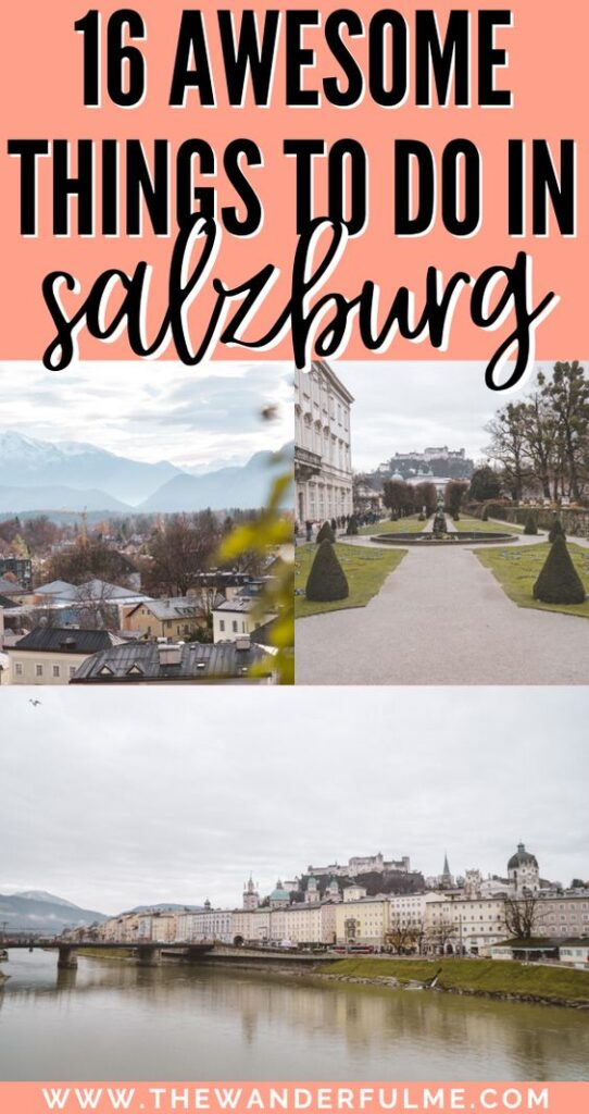 Planning an Austria trip and visiting Salzburg? There are a number of awesome things to do in Salzburg and this list has the best of them! You'll find the best Salzburg attractions, sites to see, activities, and more in this blog post. Check it out! | #europe #salzburg #austria #thingstodo #travel