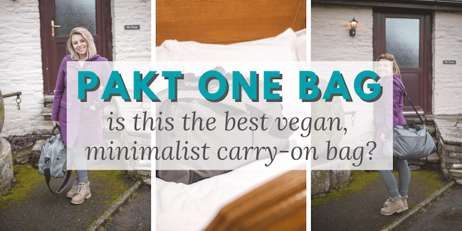 Pakt One Bag Review: Is this the Best Vegan, Minimalist Carry-On Bag? • The Wanderful Me