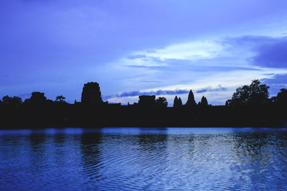 Disappointing sunrise over Angkor Wat. • Angkor Wat Sunrise - The RIGHT Way to Do it + My Personal Experience