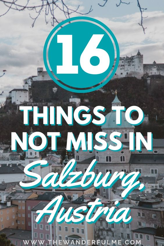 Want to know what the BEST things to do in Salzburg, Austria, are? Here's the only list you'll ever need (especially if you're on a short trip to Salzburg or only have a limited time!) when determining what to do in Salzburg - featuring the Salzburg Castle, Mirabell Gardens, mountain viewpoints, where to watch the sunset, and MORE! Click the pin to find out what Salzburg attractions you should add to your Austria itinerary. #salzburg #austria #itinerary #whattodo #thingstodo