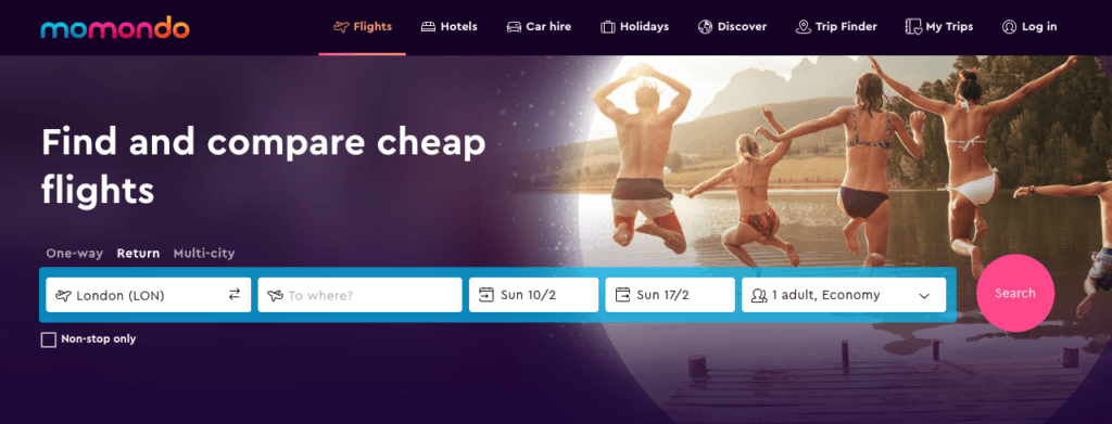 Momondo • Scoring Cheap Flights: The Top Sites I Use to Book Affordable Flights