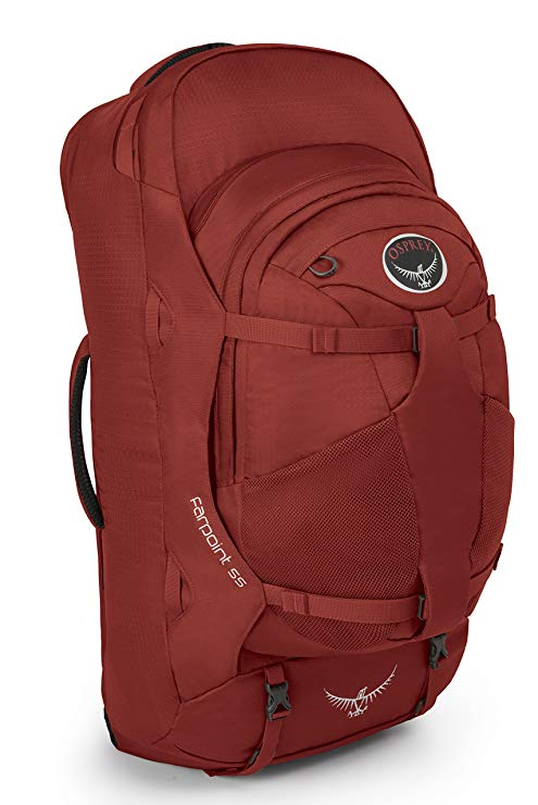 The entire Osprey backpack line, including the Osprey Farpoint 55L, are eco-friendly and vegan travel backpacks to wander the world with.