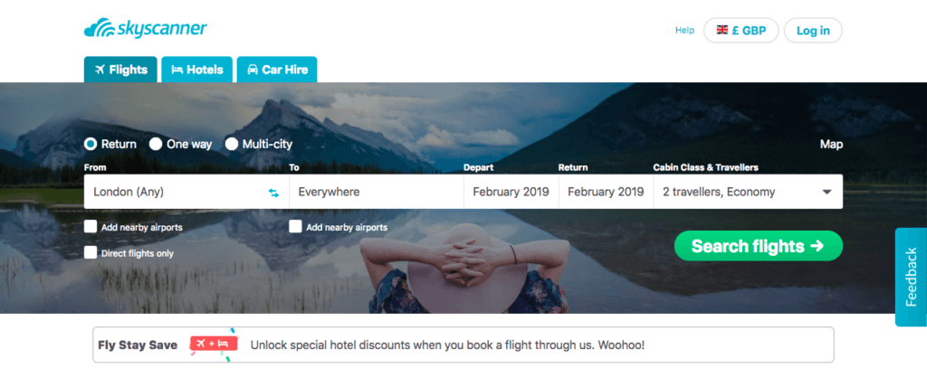 Skyscanner • Scoring Cheap Flights: The Top Sites I Use to Book Affordable Flights