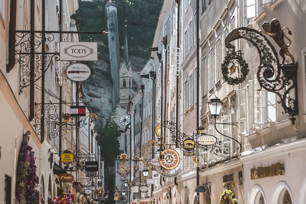 Getreidegasse •The Ultimate List of the Best Things to Do in Salzburg, Austria