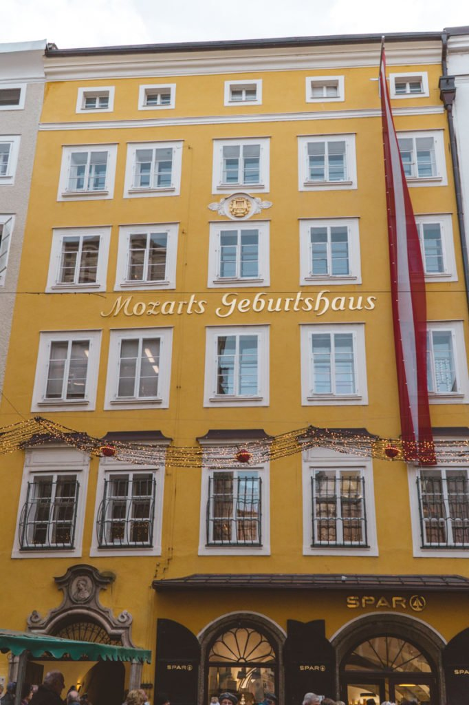 Mozarts Geburtshaus •The Ultimate List of the Best Things to Do in Salzburg, Austria