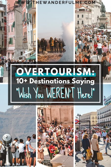 How to combat overtourism by NOT traveling to these destinations screaming