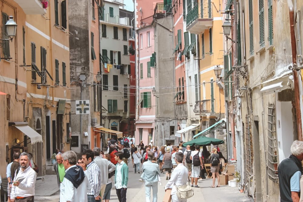 Amass the crowds of tourists drawn to the Cinque Terre in Italy, the locals are losing their quality of life.