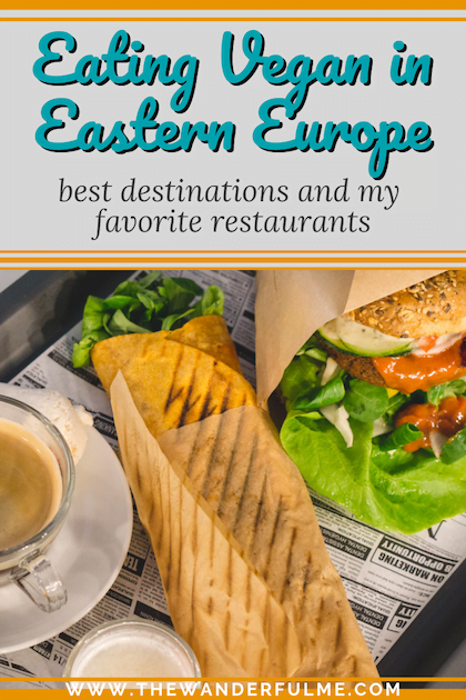 Eating vegan in Eastern Europe is easier than you probably think! Pierogis, burgers, wraps, kebabs, donuts... holy moly, the options are endless! Check it out. #vegan #travel #europe