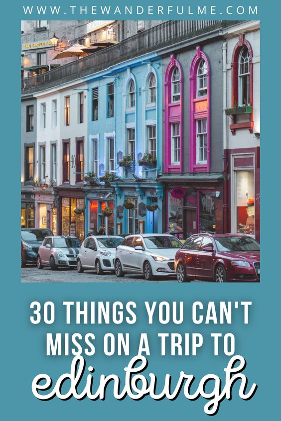 Ready to have the best Edinburgh trip ever? Don't miss out on these 30 awesome things to do in Edinburgh! From the castle to Arthur's Seat and Holyrood Palace, you can see the best of Edinburgh with this list.