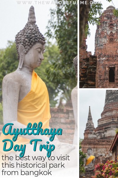 Need help planning an Ayutthaya day trip? Check out this post on why booking a private tour with TakeMeTour is the best way possible! | #ayutthaya #thailand #bangkok #daytour #daytrip #travel #asia #travelitinerary